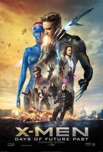 Cartel promocional de 'X-Men: Días del futuro pasado'.