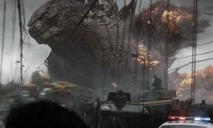 'Godzilla' arrasa San Francisco en un intento de acabar con otros monstruos.