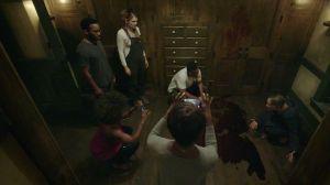 Los actores de 'American Horror Story: Roanoke' viven un infierno en la mansión.